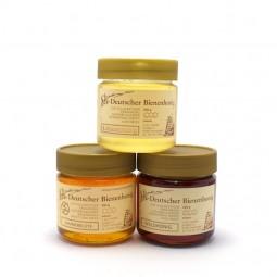 Honigpaket mit flüssigem Honig