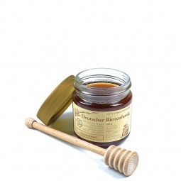 Waldhonig (250g) mit Honiglöffel